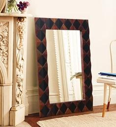16fd8afad1f Austine Rectangular Wall Mirror in Solid Wood Frame ...