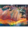 Hashtag Decor Autumn Forest Engineered Wood 27 x 20 Inch Framed Art Panel