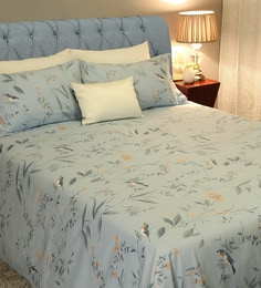 Avery 210 TC 100% Cotton King Size Bedsheet With 2 Pillow Covers ...