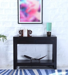 Avian Console Table In Warm Chestnut Finish