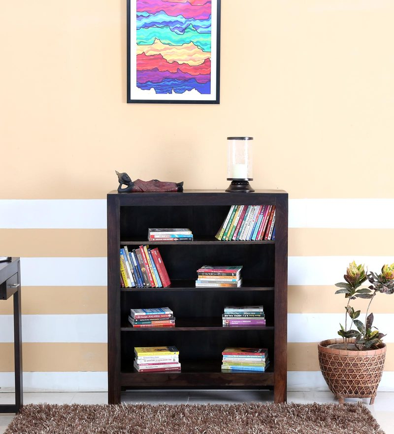 Avian Book Shelf in Warm Chestnut Finish by Woodsworth.