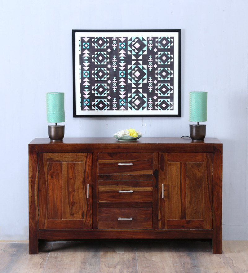 Avian Sideboard in Provincial Teak Finish by Woodsworth.