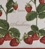 Avira Home Strawberry Multicolour Cotton & Polyester Placemats - Set of 4