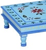 Ayoga Hand Painted Stool (Bajot) by Mudramark
