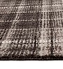 Fine New Zealand Wool Brown Multi Check Carpet by Azaani