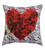 Azaani Multicolour Polyester 17 x 17 Inch Beautiful Hearts Cushion Covers - Set of 5