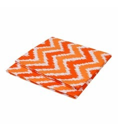 Bacati Multicolour Cotton 52 X 28 Inch Mix N Match Zigzag Crib Fitted Baby Bedding Set - Set Of 2 - 1620062