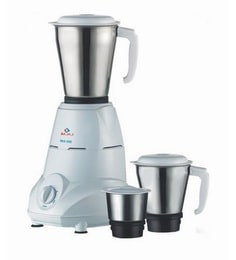 Bajaj Rex Mg White With 3 Jars Mixer Grinder