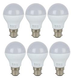 Bajaj White 7 W LED Bulb - Set of 6