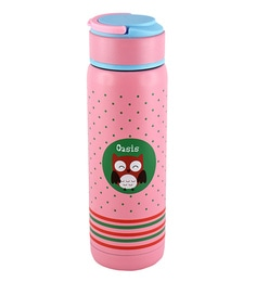 Bar World Pink Stainless Steel & Plastic 320 ML Vacuum Flask