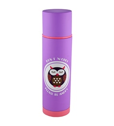 Bar World Purple Stainless Steel & Plastic 500 ML Vacuum Flask