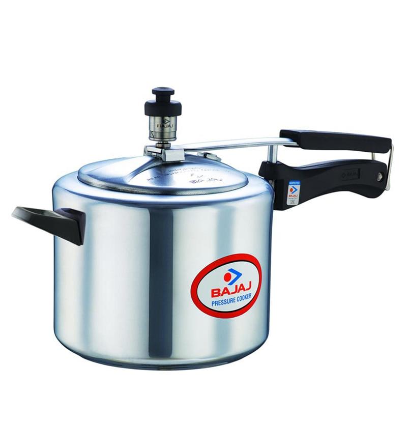 Bajaj Aluminium 5L Majesty Duo Pressure Cooker