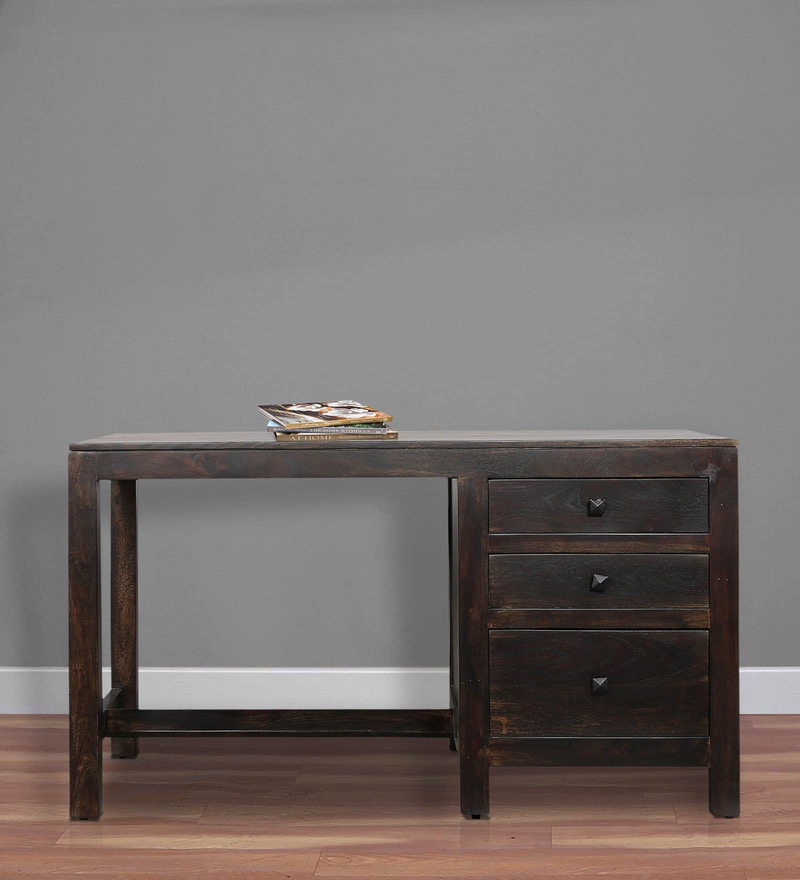 Balsam Study & Laptop Table in Warm Chestnut Finish by Woodsworth