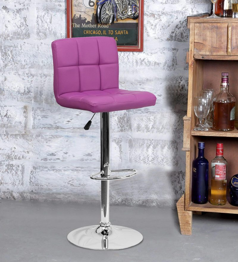 Bar Chair in Purple Colour by Exclusive Furniture