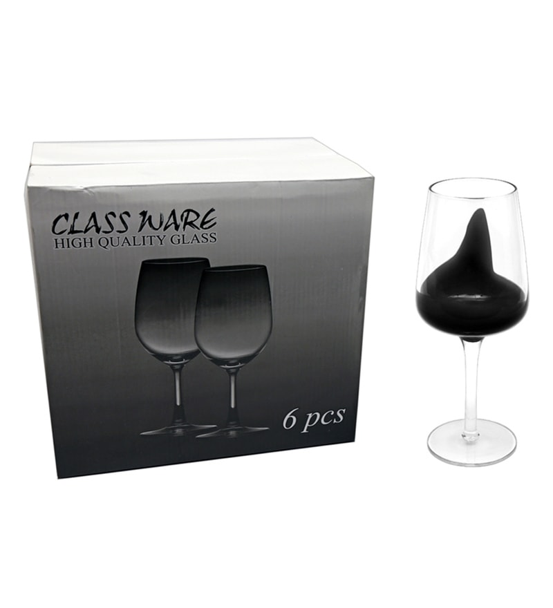 Buy Bar World Fancy Black Glass 450 ML Glasses Set of 6  : bar world fancy black glass 450 ml glasses set of 6 bar world fancy black glass 450 ml glasses s eyaqfo from www.pepperfry.com size 800 x 880 jpeg 29kB