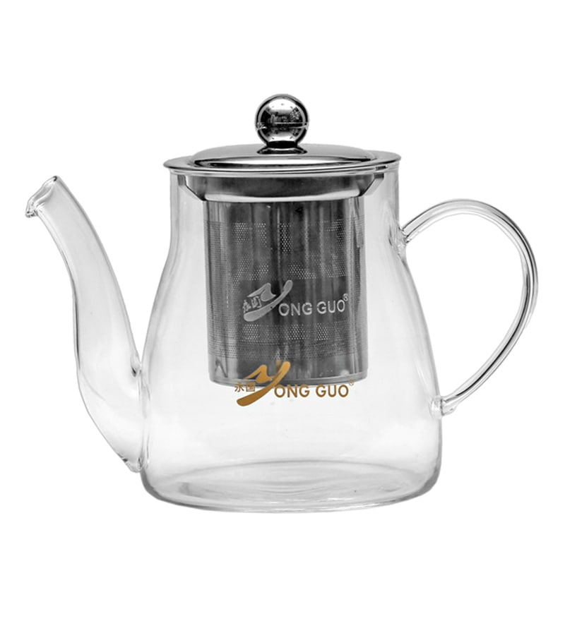 Barworld Borosilicate Glass 600 ML Kettle with Infuser