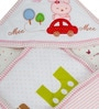 Mee Mee Baby Wrapper Blanket in Pink Colour