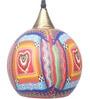 Bandra Flea Market Multicolour Glass That 70'S Pendant