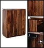 Oakland Bar Cabinet in Provincial Teak Finish by Woodsworth