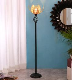 Beige Bamboo Floor Lamp - 1711273