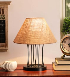 Beige Jute Table Lamp - 1705569
