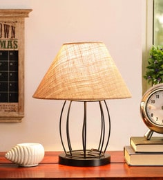 Beige Jute Table Lamp - 1705564