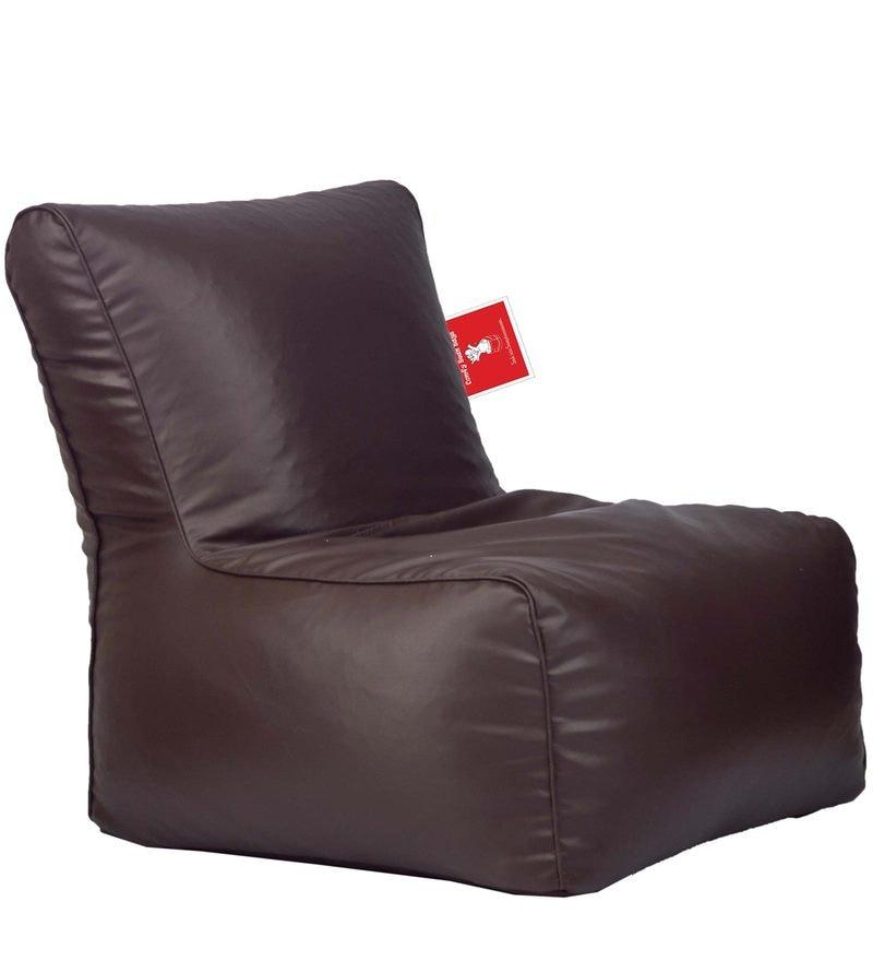 Bean Bag Chair Cover in Brown Colour by Comfy Bean Bags