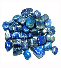 Blue Agate Lapis Lazuli Decorative Pebbles