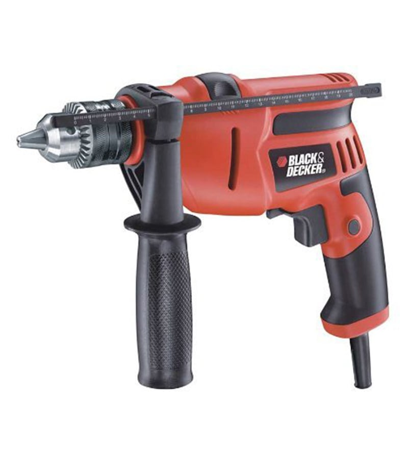 Black and Decker Plastic Hammer Drill
