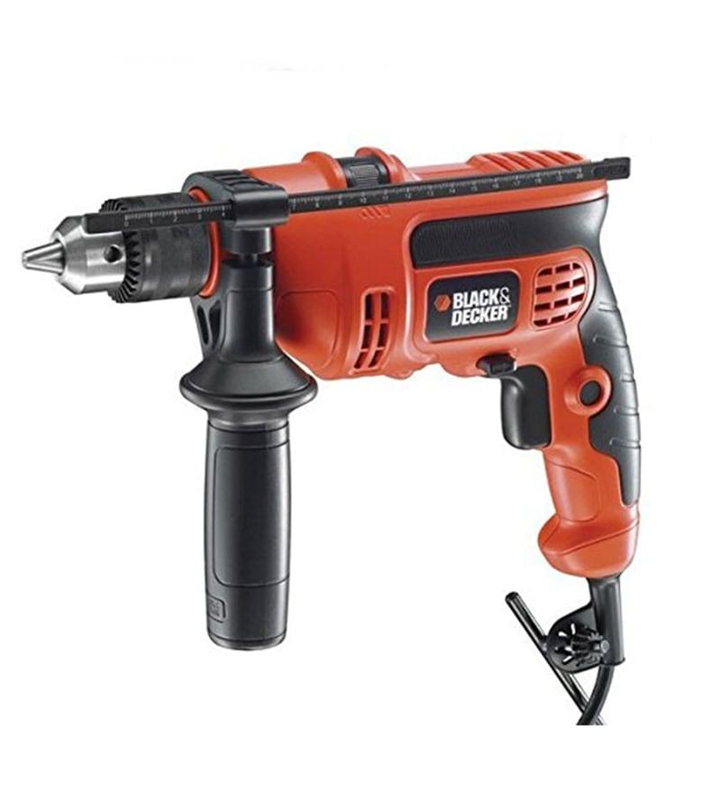 Black and Decker Plastic Hammer Drill