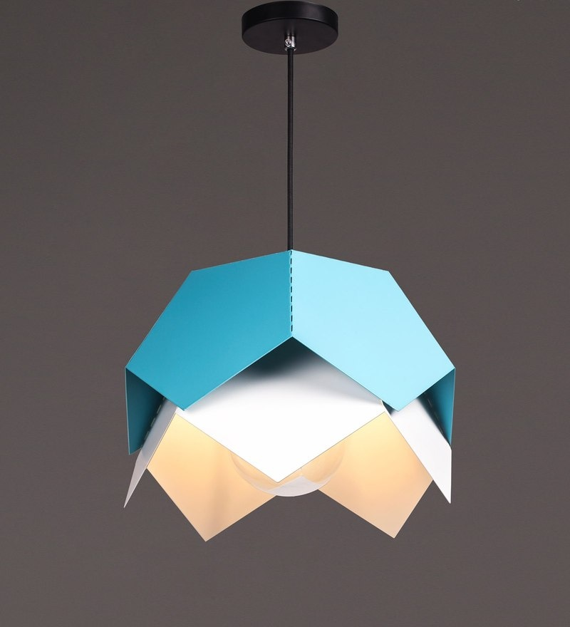 Blue Iron Pendant by Voylite