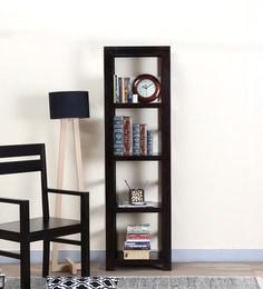 Enkel Book Shelf In Warm Chestnut Finish