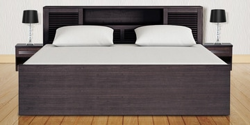 Bali Super Storage King Bed by HomeTown at pepperfry