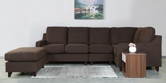 L Shaped Sofas Buy L Shaped Sectional Sofas Online In India - Coffee table for l shaped sofa