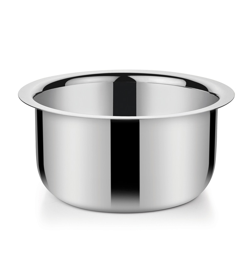 Stainless Steel 3.3 L Hearty Milk Pan by Bonita