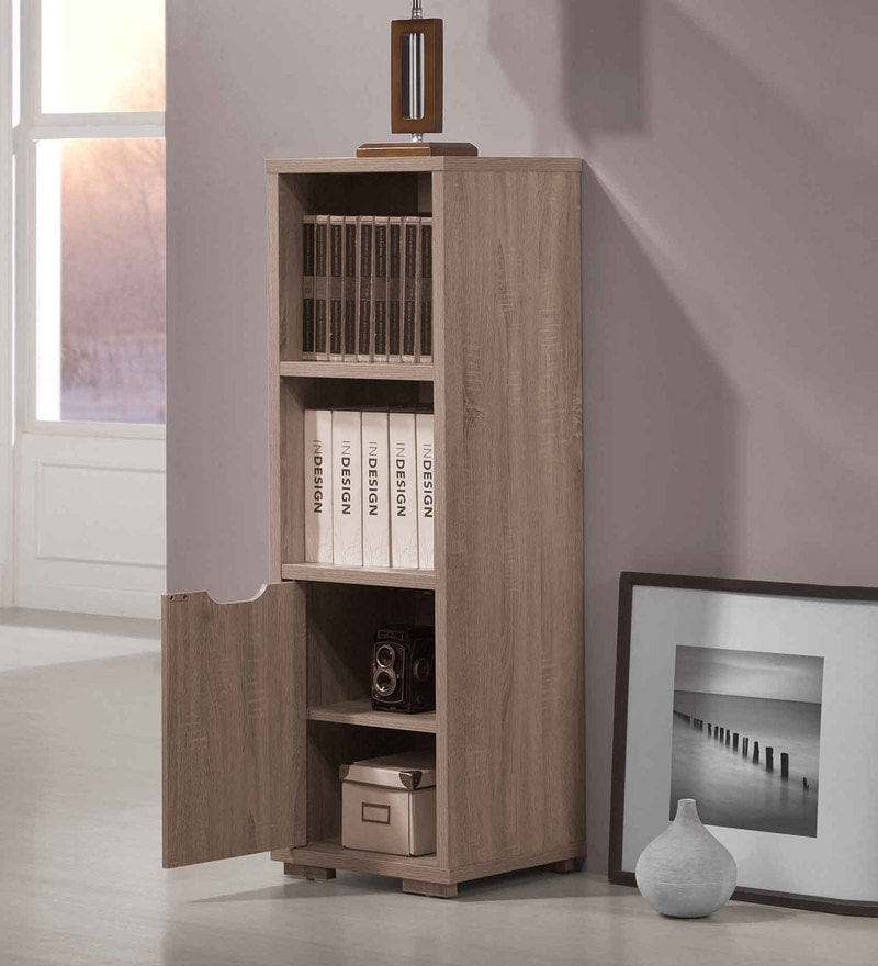 Book Shelf in Sonama Oak Finish by Evergreen