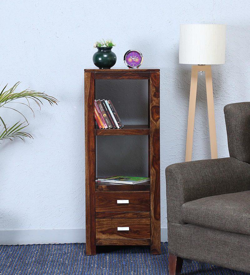 Oriel Book Shelf In Provincial Teak Finish By Woodsworth