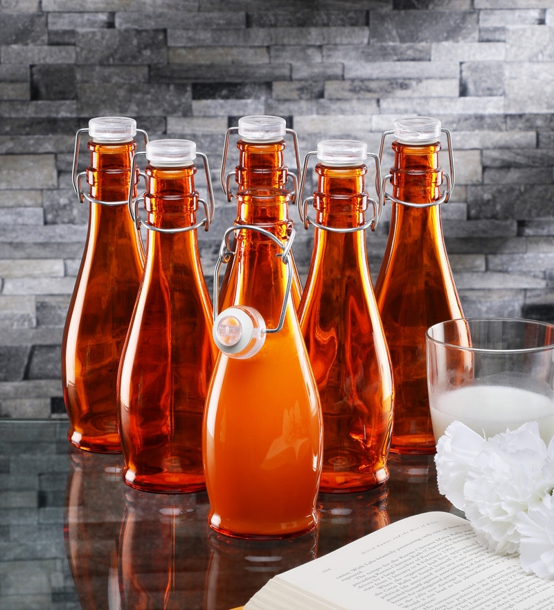 Borgonovo Alighieri Orange Glass 335 ML Bottle