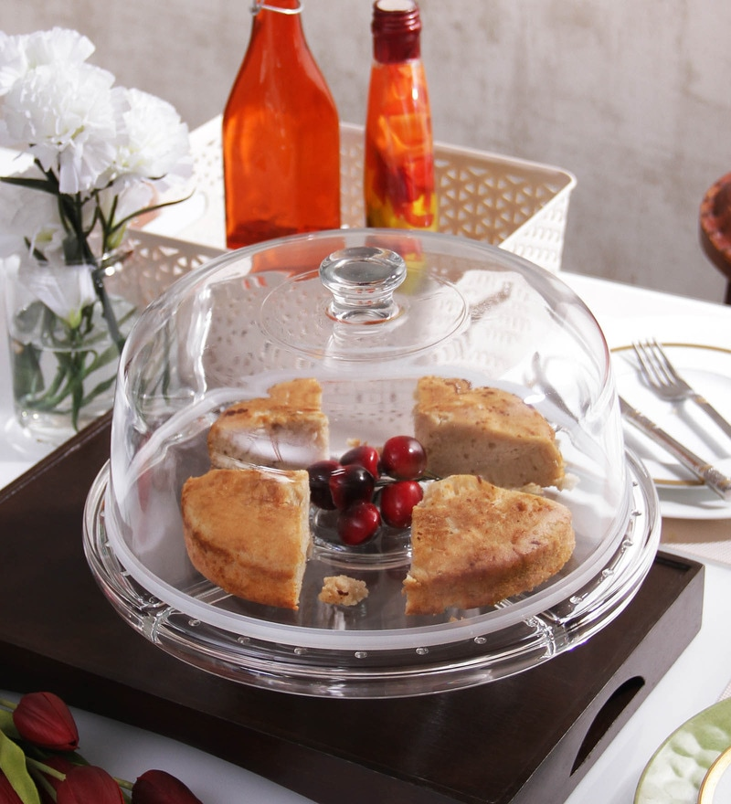 Borgonovo Palladio 4-In-1 Glass Cake Tray