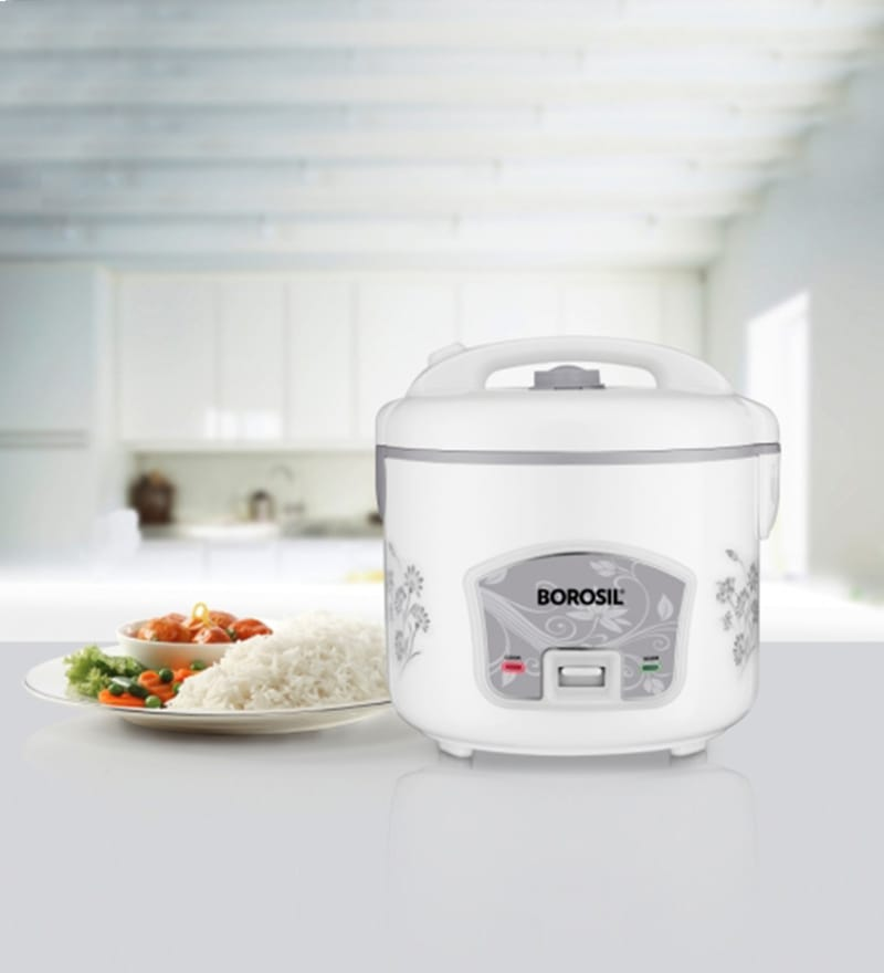 Borosil Pronto Deluxe 2.8L Rice Cooker