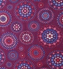 Purple Poly Cotton Queen Size Bedsheet - Set of 3 by Bombay Dyeing