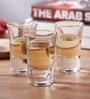 Borgonovo Bic. Glass 35 ML Shot Glass - Set Of 6