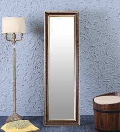 Brown Sheesham Wood Standing Mirror