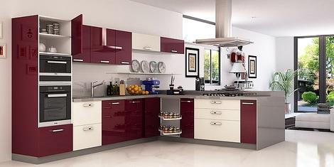 Island Modular Kitchen Buy Island Kitchen Design Online In