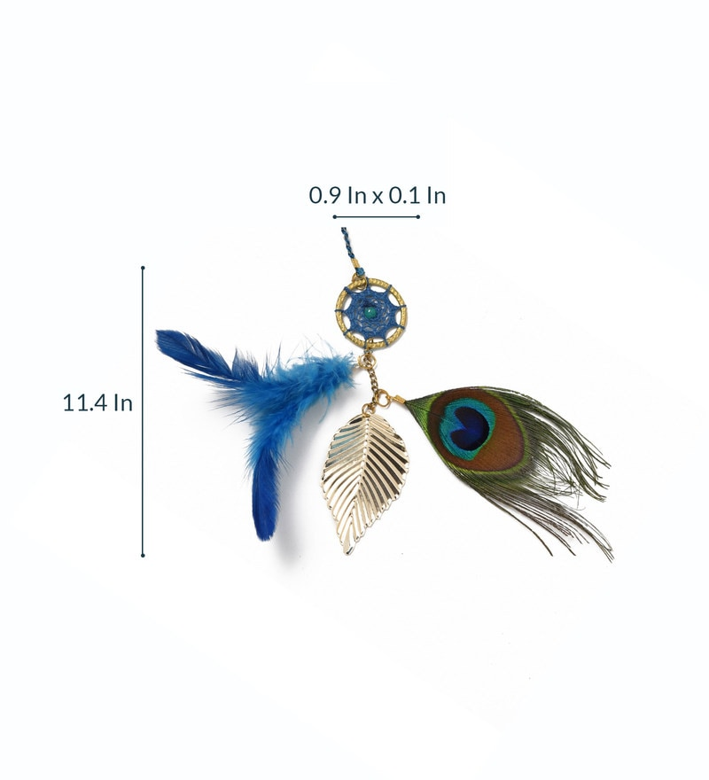 Brass & Feather Book Mark Peacock Dream Catcher By Rooh Dream Catchers