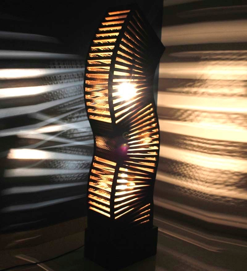 Brown Sonsie Floor Lamp by Sylvn Studio