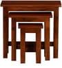 Oakville Set of Tables in Honey Oak Finish by Woodsworth