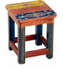 Araneya Hand Painted Stool by Mudramark