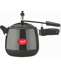 Butterfly Superb Plus Aluminium 5 Ltr Pressure Cooker With Inner Lid