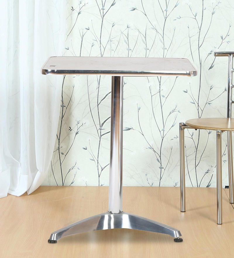 Cafeteria Square Metallic Table by FullStock